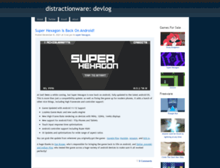 distractionware.com screenshot