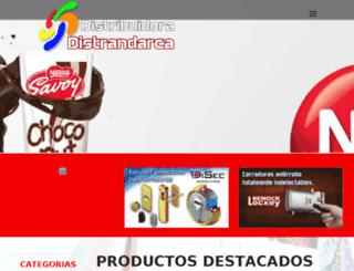 distrandarca.com.ve screenshot
