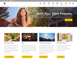 distrib.foreverliving.com screenshot