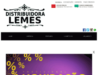 distribuidoralemes.com screenshot