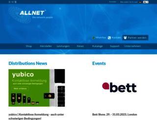 distribution.allnet.de screenshot