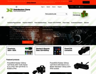 distributionzone.com screenshot