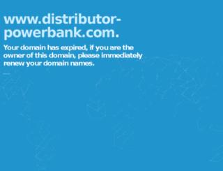 distributor-powerbank.com screenshot