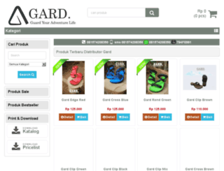 distributorgard.com screenshot