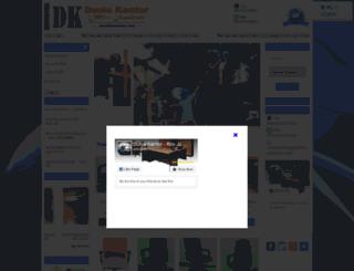 distributorkursi.com screenshot