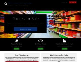 distributorship.com screenshot