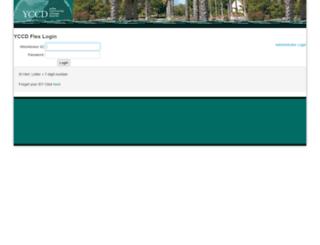 district-flex.yccd.edu screenshot
