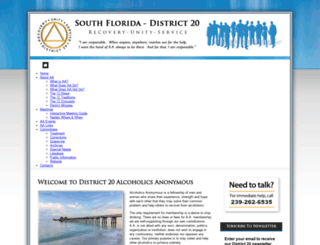 district20aa.org screenshot