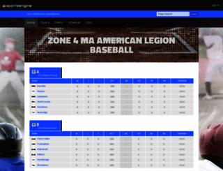district4baseball.com screenshot