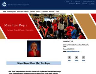 district6.dadeschools.net screenshot