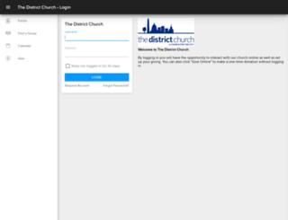 districtchurch.ccbchurch.com screenshot