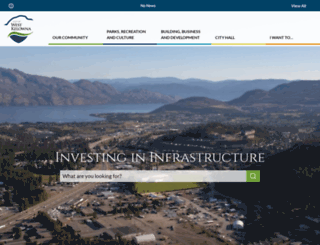 districtofwestkelowna.ca screenshot