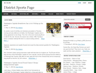 districtsportspage.com screenshot