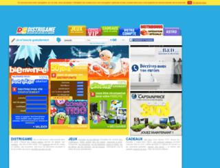distrigame.com screenshot