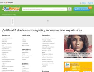 distritocapital.quebarato.co.ve screenshot