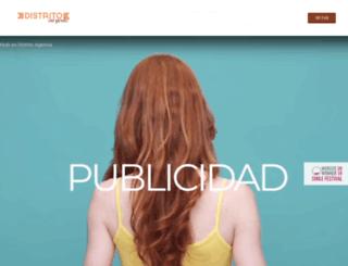 distritomusical.com screenshot