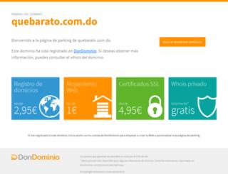 distritonacional.quebarato.com.do screenshot
