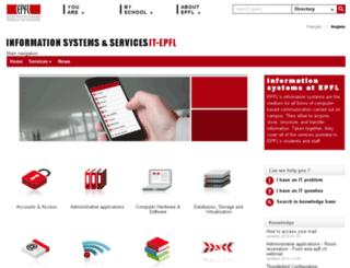 dit.epfl.ch screenshot