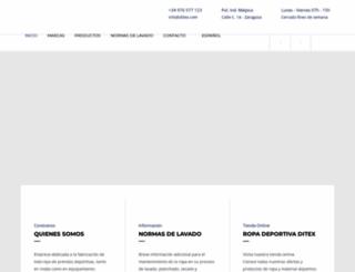 ditex.com screenshot
