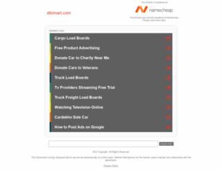 ditomart.com screenshot