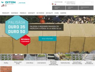 diton.cz screenshot