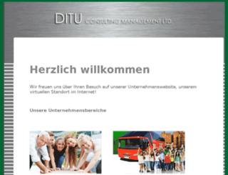 ditu-group.com screenshot