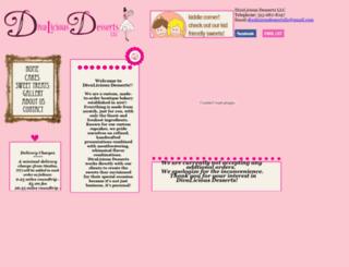 diva-liciousdesserts.com screenshot