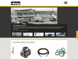 divapps.parker.com screenshot