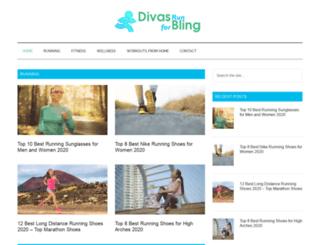 divasrunforbling.com screenshot