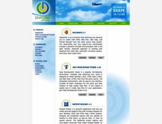 divcomsoft.com screenshot