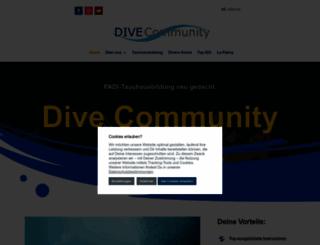 dive-community.de screenshot