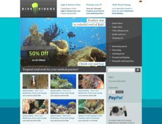 dive-videos.com screenshot