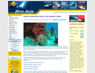 diveasia.com screenshot
