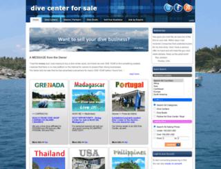 divecenterforsale.com screenshot