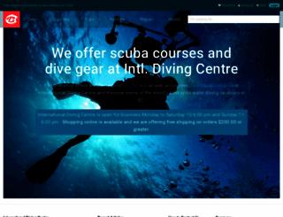 diveidc.com screenshot