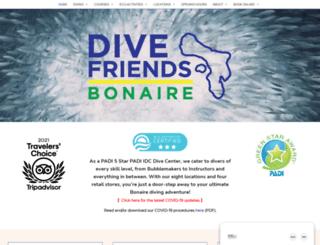 diveinnbonaire.com screenshot