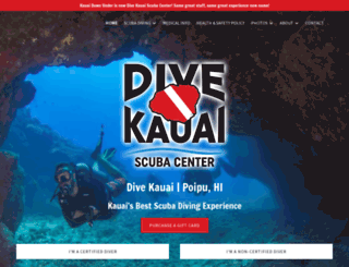 divekauai.com screenshot