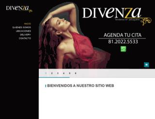 divenza.com.mx screenshot