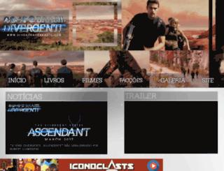 divergentebrasil.com screenshot