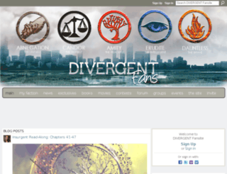 divergentfans.com screenshot