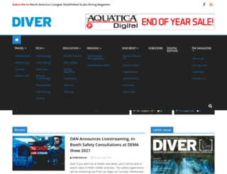 divermag.com screenshot