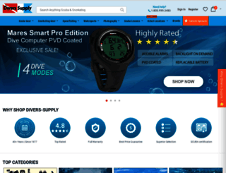divers-supply.com screenshot