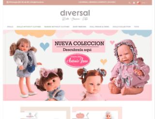 diversal.es screenshot