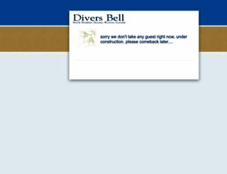 diversbell.com.au screenshot