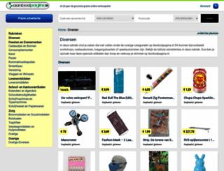 diversen.aanbodpagina.nl screenshot