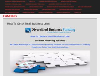 diversifiedbusinessfunding.com screenshot