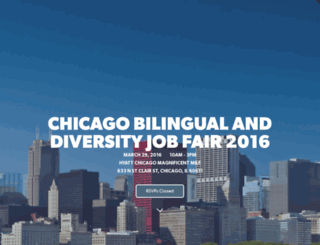 diversity-chicago.splashthat.com screenshot