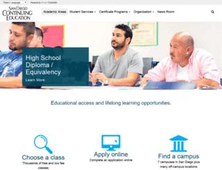 diversity.sdce.edu screenshot