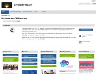 diversitybeam.dmcbeam.org screenshot
