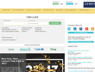 diversityinc.careercast.com screenshot